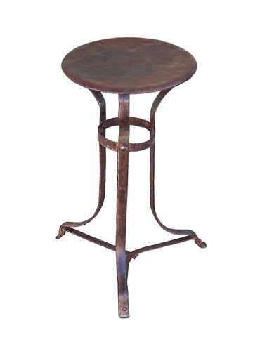 French Metal Side Table 28332