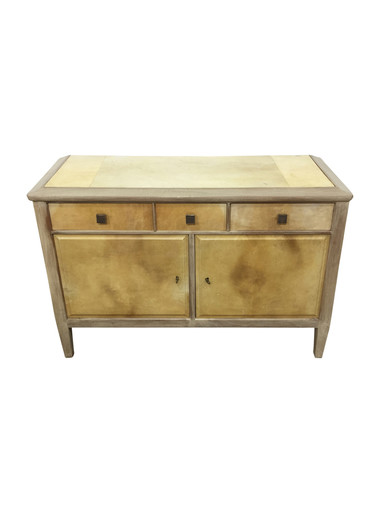 French Mid Century Parchment Buffet 37268