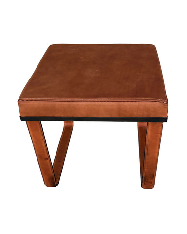 Limited Edition Saddle Leather Bench/Stool 36153