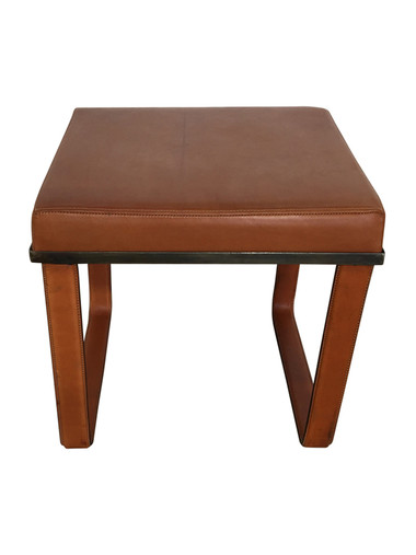 Limited Edition Saddle Leather Bench/Stool 36794