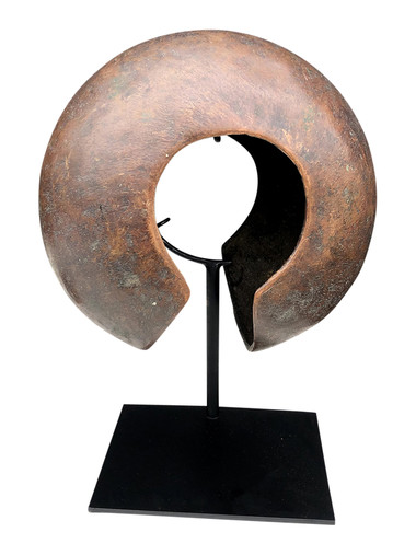 Large Bronze African Object 34898