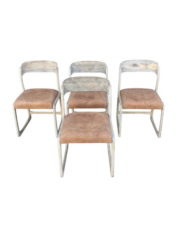 Set of (4) Danish Dining Chairs 38171