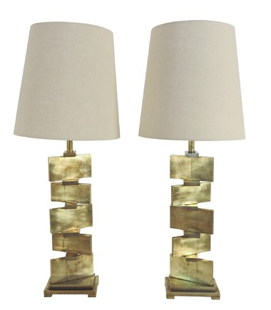 Pair of Lucca Studio Wyeth Lamps 34741