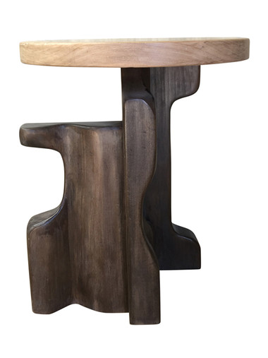 Lucca Studio Wood Modernist Side Table 37820
