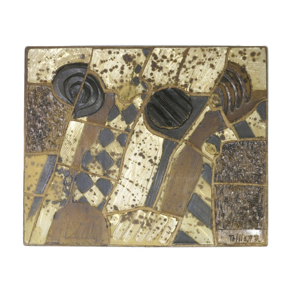 Belgian Ceramic Wall Art 21388