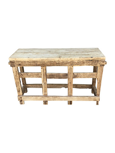French Oak Console 31637
