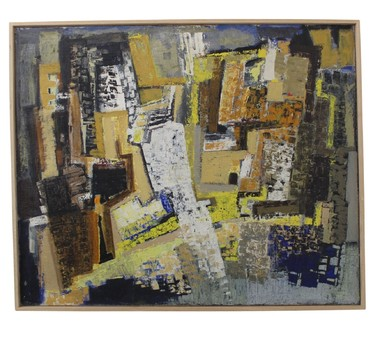 Danish Abstract Painting 32146