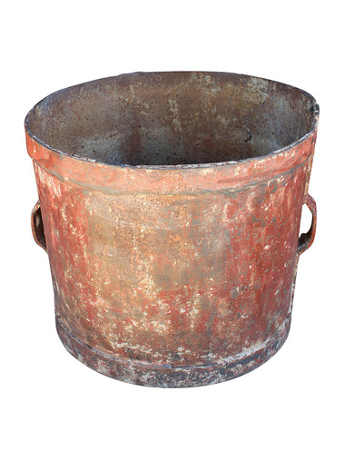 19th Century Iron Vessel with Handles 31569