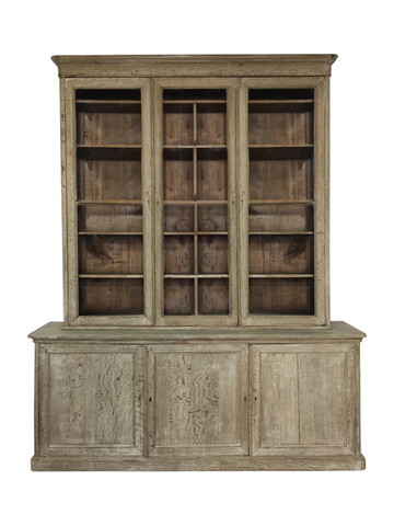 19th Century French Oak Cabinet 36265