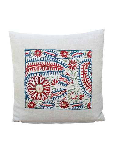 18th Century Turkish Embroidery  Pillow 28477