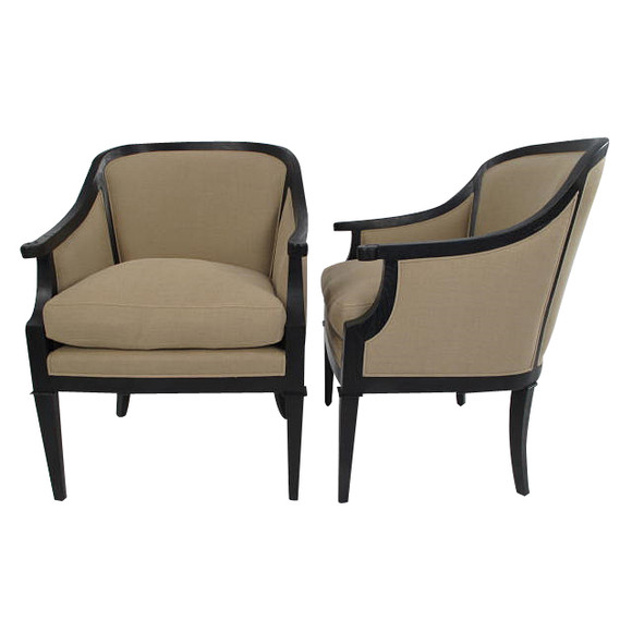 Pair of Lucca Studio Nolan Chairs 32824