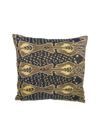 Vintage Indonesian Print Pillow 31297