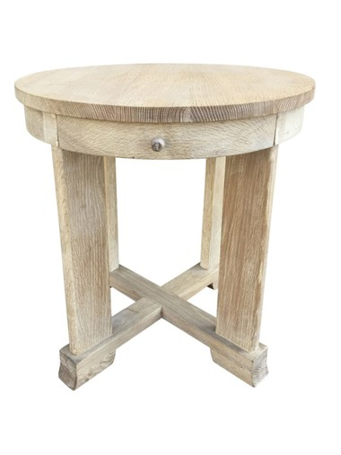 Lucca Limited Edition Oak Side Table 37734
