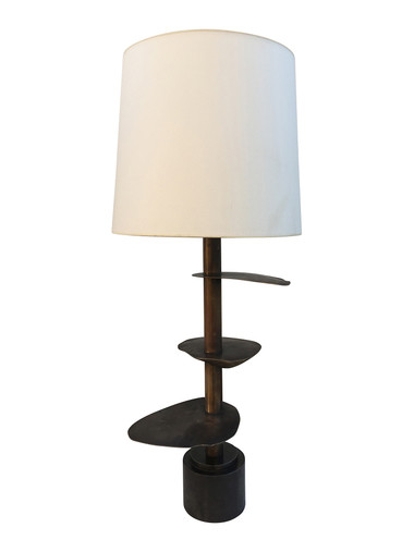 Limited Edition Organic Bronze Lamp 32981