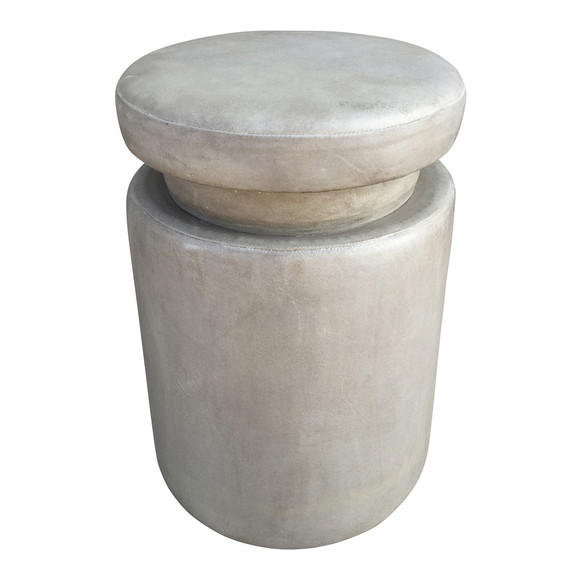 Limited Edition Leather Stool 33689